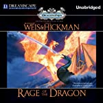 Rage of the Dragon: Dragonships of Vindras, Book 3 (       UNABRIDGED) by Margaret Weis, Tracy Hickman Narrated by Michael Kramer