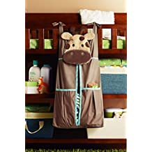 Baby Boy Safari Crib Bedding Diaper Stacker - Giraffe
