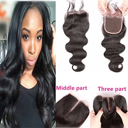E-forest-hair-7A-Closure-Virgin-100-Peruvian-Remy-Human-Hair-3-Way-Part-Body-Wave-44-Top-Lace-Closure-Natural-Black-8-inch130-Density-Baby-Hair-498Hj-03