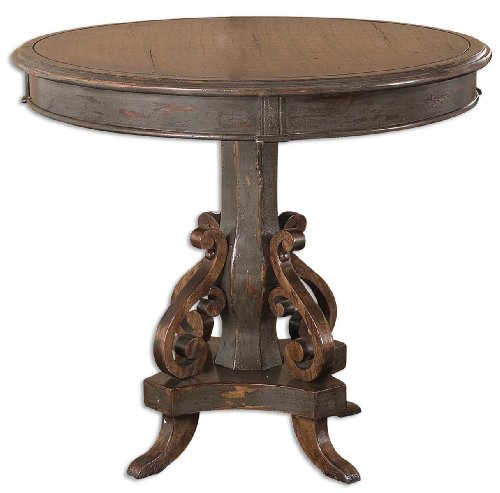 Uttermost Anya Round Table 32 Inches Round By 28 Inches Tall