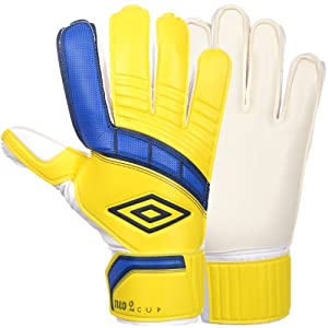 Umbro Neo Cup Mens Soccer Goalkeeper Gloves - Yellow - 10