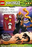 LEGO Ninjago: Ninja vs Constrictai Activity Book with minifigure