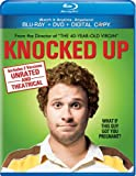 Knocked Up Unrated (Blu ray + DVD + Digital Copy) [Blu-ray]