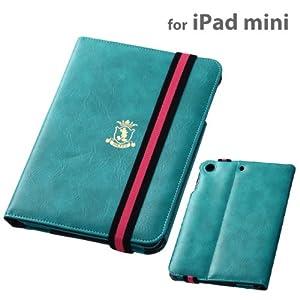 Apple iPad mini用  ディズニー・キャラクター・フラップタイプ・レザージャケット/ミッキーブルー RT-DPA4B/MA