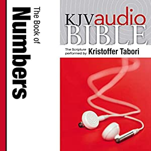King James Version Audio Bible: The Book of Numbers Audiobook