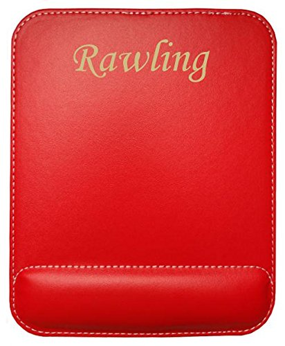 personalised-leatherette-mouse-pad-with-text-rawling-first-name-surname-nickname
