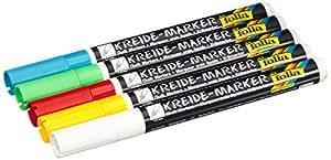 Folia 390509 - Kreidermarker Set 5er