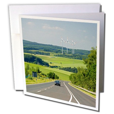 Gc_81779_1 Danita Delimont - Energy - Electricity Generators, Cars, Energy, Germany - Eu10 Dfr0133 - David R. Frazier - Greeting Cards-6 Greeting Cards With Envelopes