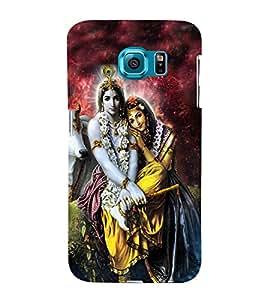 Fuson Premium Back Case Cover Lord RadhaKrishna With Multi Background Degined For Samsung Galaxy S6 Edge+ G928::Samsung Galaxy S6 Edge Plus G928F