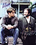 Good Will Hunting with Matt Damon & Robin Williams Signed Autographed 8 X 10 RP Photo - Mint Condition