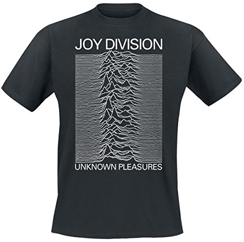 Joy Division Unknown Pleasures T-Shirt nero M