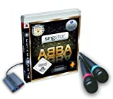 SINGSTAR ABBA WITH 2 WIRED MICROPHONES PS3