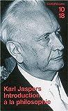 echange, troc Karl Jaspers - Introduction à la philosophie