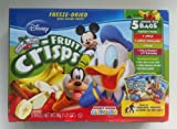 Disney Brothers All Natural Variety Pack - Fruit Crisps 2 Pack (1.23oz Each Box) - No Sugar Added