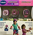 Vtech Kidizoom Smartwatch plus Action Cam Bundle for Girls