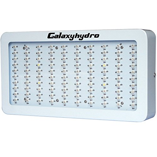 Newest LED Grow Light 300w, Galaxyhydro Dimmable Hydroponic Plants Light for Greenhouse Garden