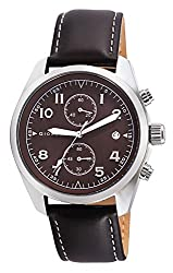 Giordano Chronograph Brown Dial Mens Watch - 1683-02