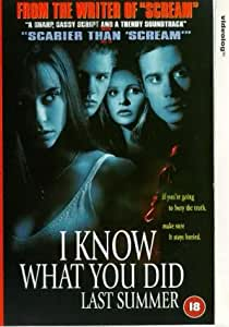 I Know What You Did Last Summer [VHS] [1997]