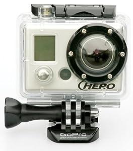 GoPro Action Camera Helmet Hero, black/clear, GOP-CHDHH-001