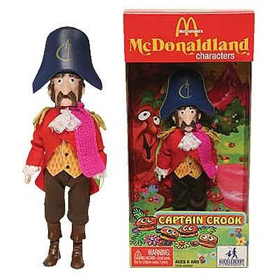 McDonald's McDonaldland Figure - Captain Crook [Toy] - 1