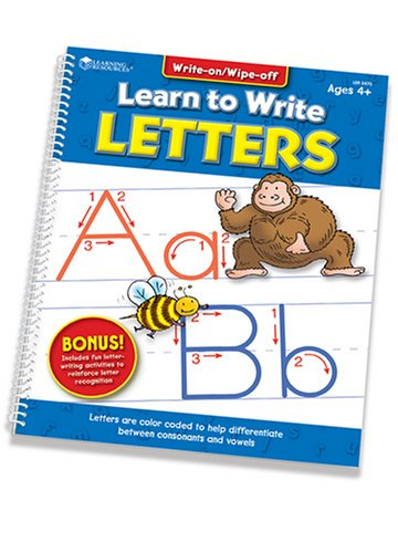 Buy Learning Resources Learn to Write Letters
