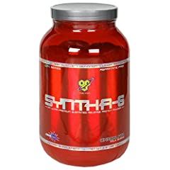 BSN Syntha-6 Protein Powder, Chocolate Milkshake, 2.91 Pound