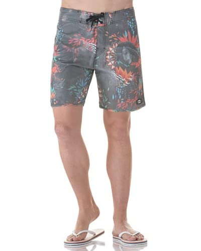 Billabong Shorts da Bagno Vivid Havana Retro [Nero]