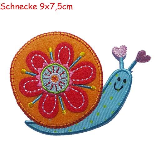 schnecke-8x7cm-bugelbilder-set-flicken-patch-kleider-aufnaher-aufbugler-stoff-zum-aufbugeln-auf-turs