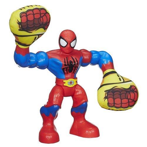 Playskool Heroes Marvel Super Hero Adventures Sling Action Spider-Man Figure by Playskool