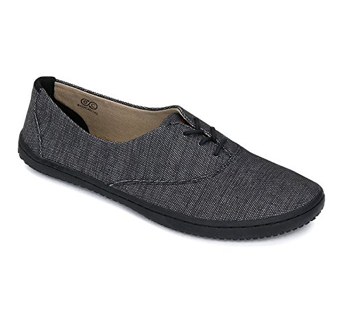 Vivobarefoot Joy Ladies Canvas schwarz thumbnail
