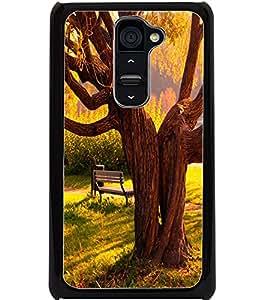 ColourCraft Tree Design Back Case Cover for LG G2