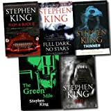 Stephen King Stephen King 5 Books Set Collection (Thinner, Full Dark, No Stars, Cujo, From A Buick 8, The Green Mile)