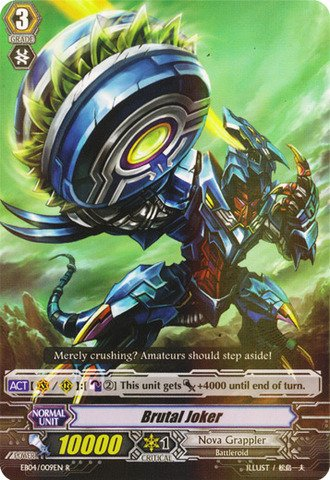 Cardfight!! Vanguard Tcg - Brutal Joker (Eb04/009En) - Extra Booster Pack 4: Infinite Phantom Legion front-529111
