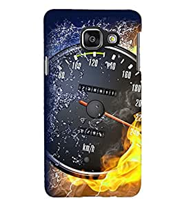 PRINTSHOPPII RACING BIKE Back Case Cover for Samsung Galaxy A3 (2016) Duos