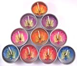 Orchid Tealight Candles (A Pack of 10)