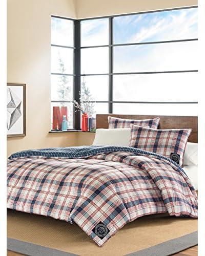 Eddie Bauer Sun Valley Plaid Comforter Set  [Blue]