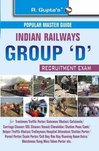 Indian Railways Group 'D' Recruitment Exam Guide (Popular Mater Guide)