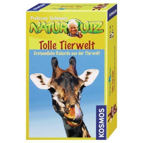 Professor Sielmanns Naturquiz : Tolle Tierwelt (Kinderspiel) online bestellen