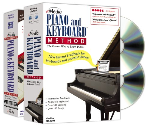 eMedia Piano and Keyboard Method Deluxe v3 (2 volume set) (Electronic Exchange Program compare prices)