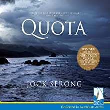 Quota Audiobook by Jock Serong Narrated by Simon Harvey