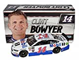 AUTOGRAPHED 2017 Clint Bowyer #14 Mobil 1 Racing (Stewart-Haas Team) Monster Energy Cup Series Signed Lionel 1/24 NASCAR Diecast Car with COA (#444 of only 685 produced!)