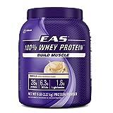 Proteina 100% Whey EAS 5 libras, sabor vainilla