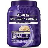 EAS 100% Whey Protein, Vanilla, 5 Pound