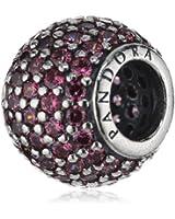 Pandora - 791051CZS - Drops Femme - Argent 925/1000 - Oxyde de Zirconium Rose