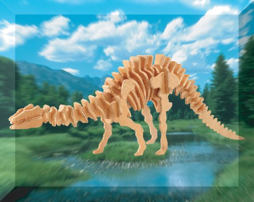 Picture of Puzzled Apatosaurus Dinosaur 3D Woodcraft Construction Kit (B00136IUOI) (Brain Teasers)