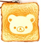 Rilakkuma bear toast bread squishy ce...