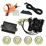 51KWm8ejLPL. SL160  Car LED Display 4 Parking Sensor Reverse backup Radar Sound Alarm System Magic dazzle gold