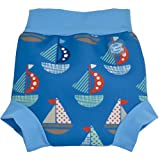 Splash About Kids Reusable Swim Happy Nappy - Set Sail, X-Large, 12-24 Months