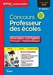 Concours Professeur des �coles - Anna...