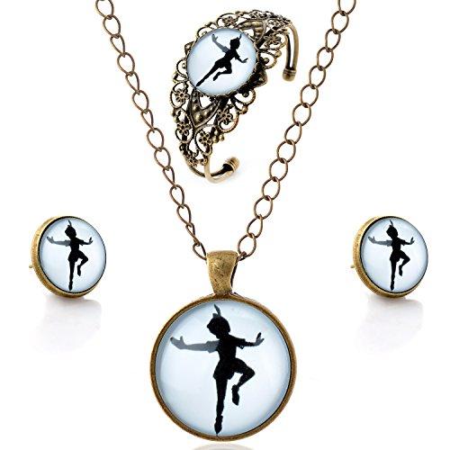 lureme-time-gem-series-vintage-the-girl-dancing-pendant-necklace-stud-earrings-hollow-flower-bangle-